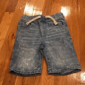 Little Boys denim shorts